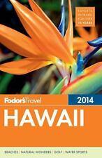 Fodors Fodor's 2014 Hawaii travel guide book map islands beaches