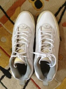 timeless design da3ad 1ac9a Details about Nike Mens Air Jordan SS White & Concrete Basketball Shoes  407284-102 Size 10