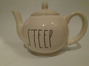 Rae-Dunn-Steep-Teapot-LL-Magenta-Tea-Pot-Farmhouse-Artisan-Magenta-NEW-rare