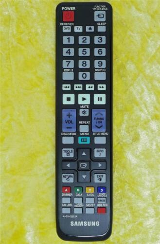 3D  Blu-ray HOME THEATER SAMSUNG Remote AH59-02353A TV