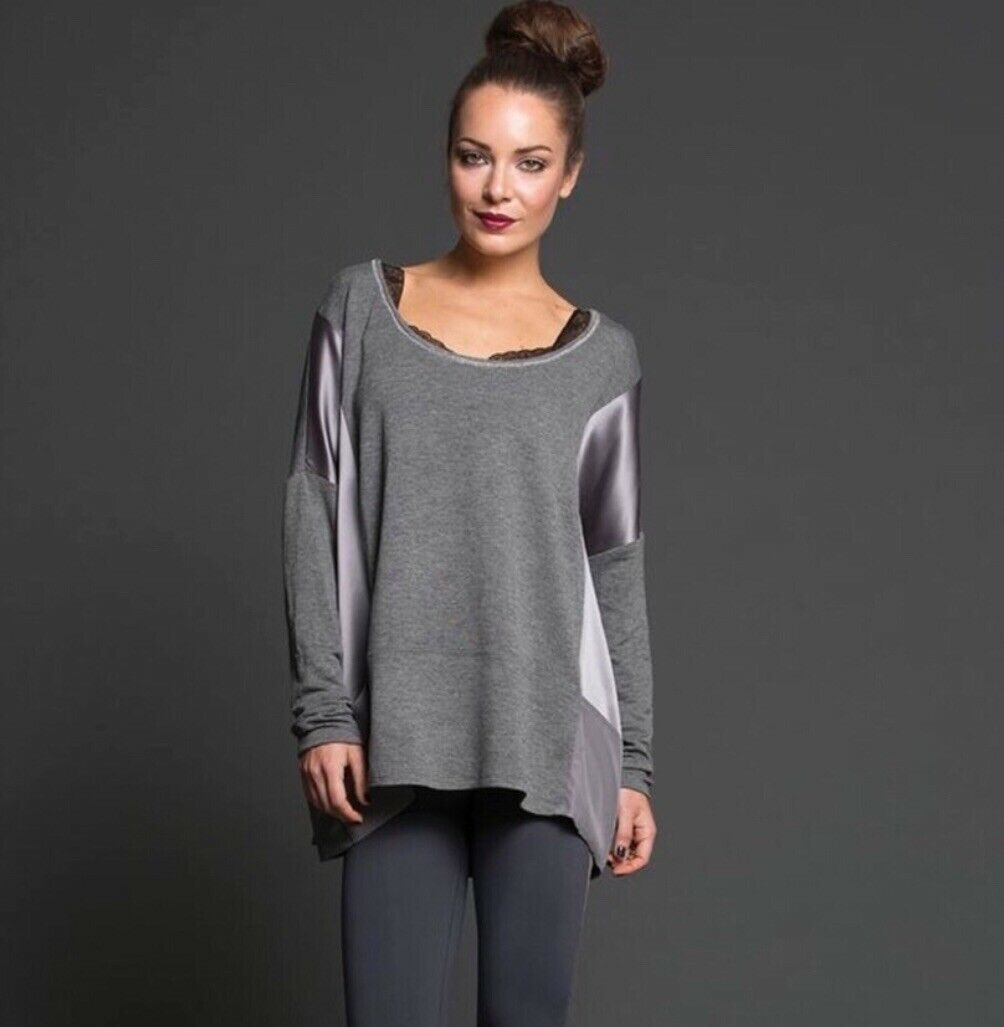Nesh New York City Oversize Jersey Top Size XS