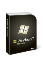 Windows 7 Ultimate 32/64 Bit Product Key with USB Installation Media  [Scrap PC]