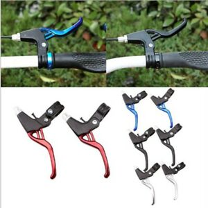 New 2PCS Brake Levers V-Brakes Set Handle Gear For BMX Mountain Bike MTB Bicycle