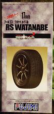 Llantas Watanabe RS 17 pulgadas incl. neumáticos Pirelli P Zero, 1:24, 192918 Fujimi