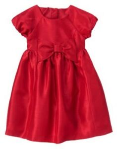 GYMBOREE-VERY-MERRY-RED-BOW-HOLIDAY-DRESSY-DRESS-6-12-18-3T-5T-NWT