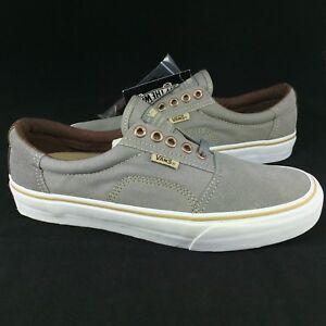 6be2cb0b52 New Vans Rowley Solos Pro Size 7.5 Men Medium Grey Brown Suede ...