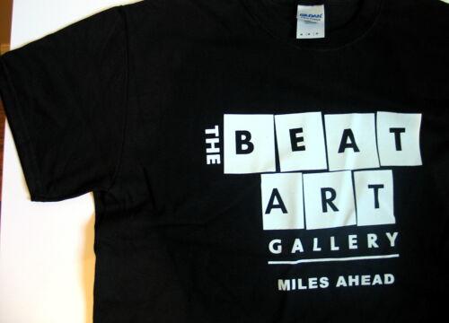 Beatnik Miles Davis T shirt Beat Art