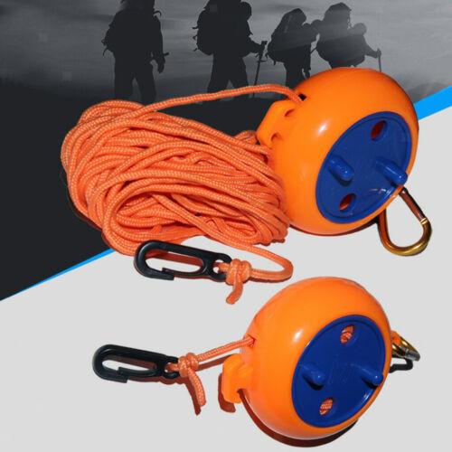 Prettyia 2x Windproof Clothesline Outdoor Travel Retractable Rope Wash Line