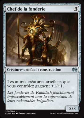 mtg magic ori Chief of the foundry Mrm fr//vf 4x Chief smelter