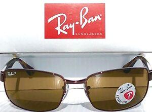 ef10837c2d NEW  Ray Ban Gunmetal Brown w POLARIZED Brown Lens Sunglass RB 3478 ...