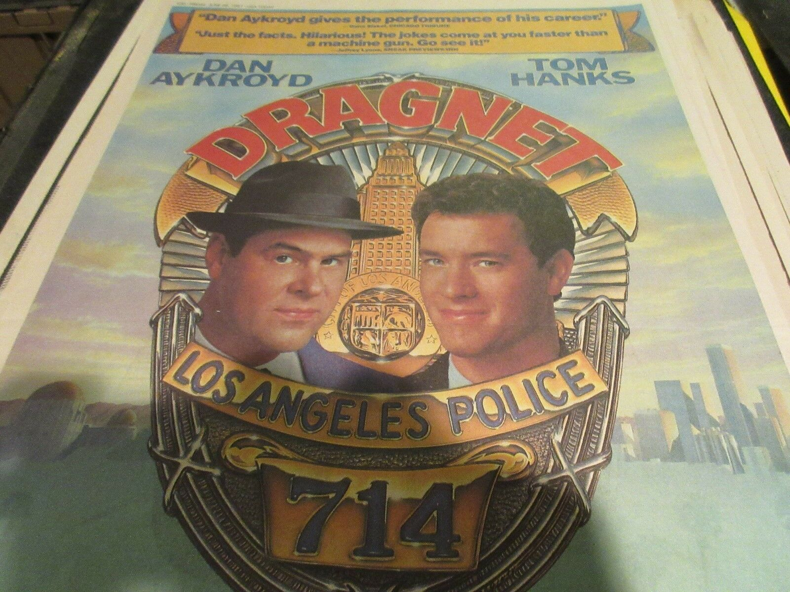 Dragnet , USA Today , Newspaper Clipping / Poster , 6/2