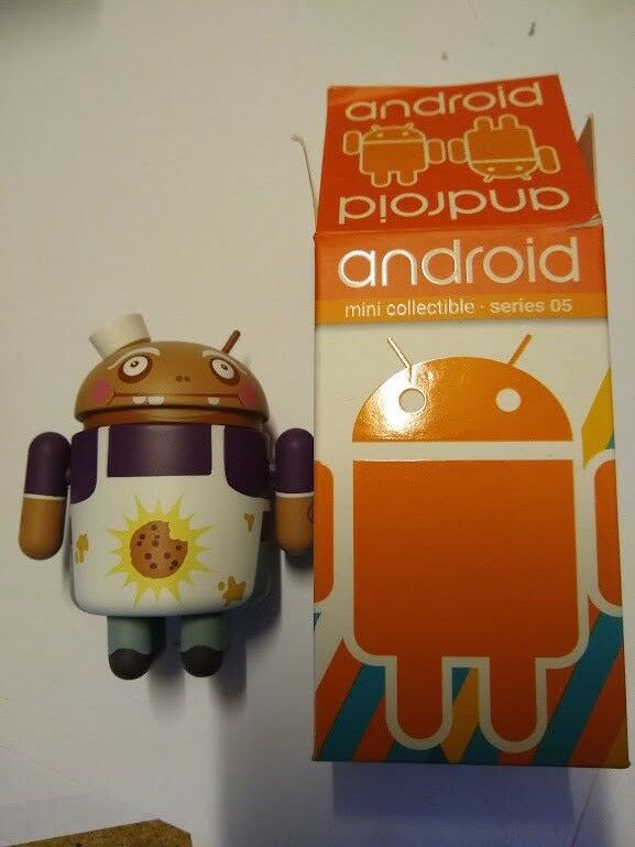 Android Mini Collectible Figure: Series 05 Meat Master Rare Chase Google