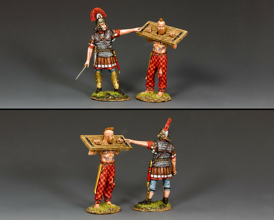 KING AND COUNTRY Barbarians - - The Centurion & His Prisoner RnB020