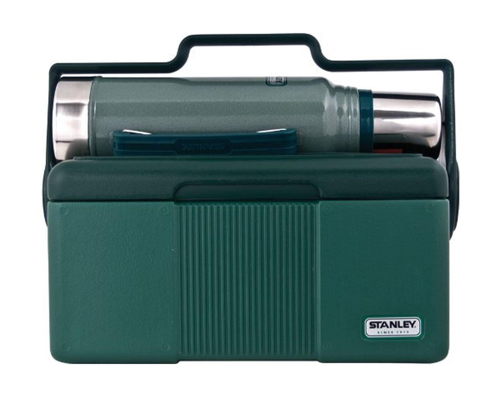 Stanley 7 Qt Enfriador de patrimonio con el clásico 1.1 Qt Botella de vacío