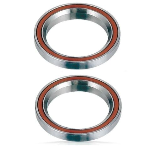 """2 pro scooter BMX bike headset bearings threadless sealed ring 1 1//8/"""" integrated"""