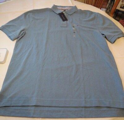 Tommy Hilfiger Mens Polo Shirt Short Sleeve XL Classic Fit 78B8834 420 blue NWT 715676119740 | eBay
