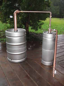 Beer Keg Still Moonshine 15 5 Amp 5 Gallon Copper Thumper
