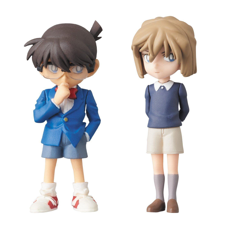 UDF Detective Conan Conan Edogawa & Ai Haibara figure Set of 2 New Japan