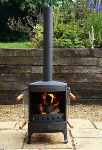 Beau Image Is Loading Hellfire Barbeque BBQ Outdoor Cast Iron Stove Chiminea
