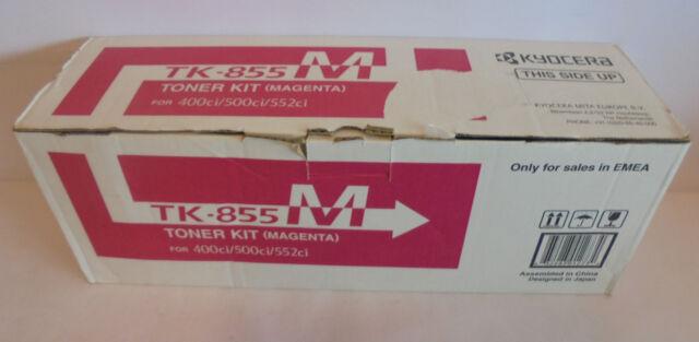 Original Kyocera TK-855M Toner magenta für TASKalfa 400ci 500ci 552ci TK855M