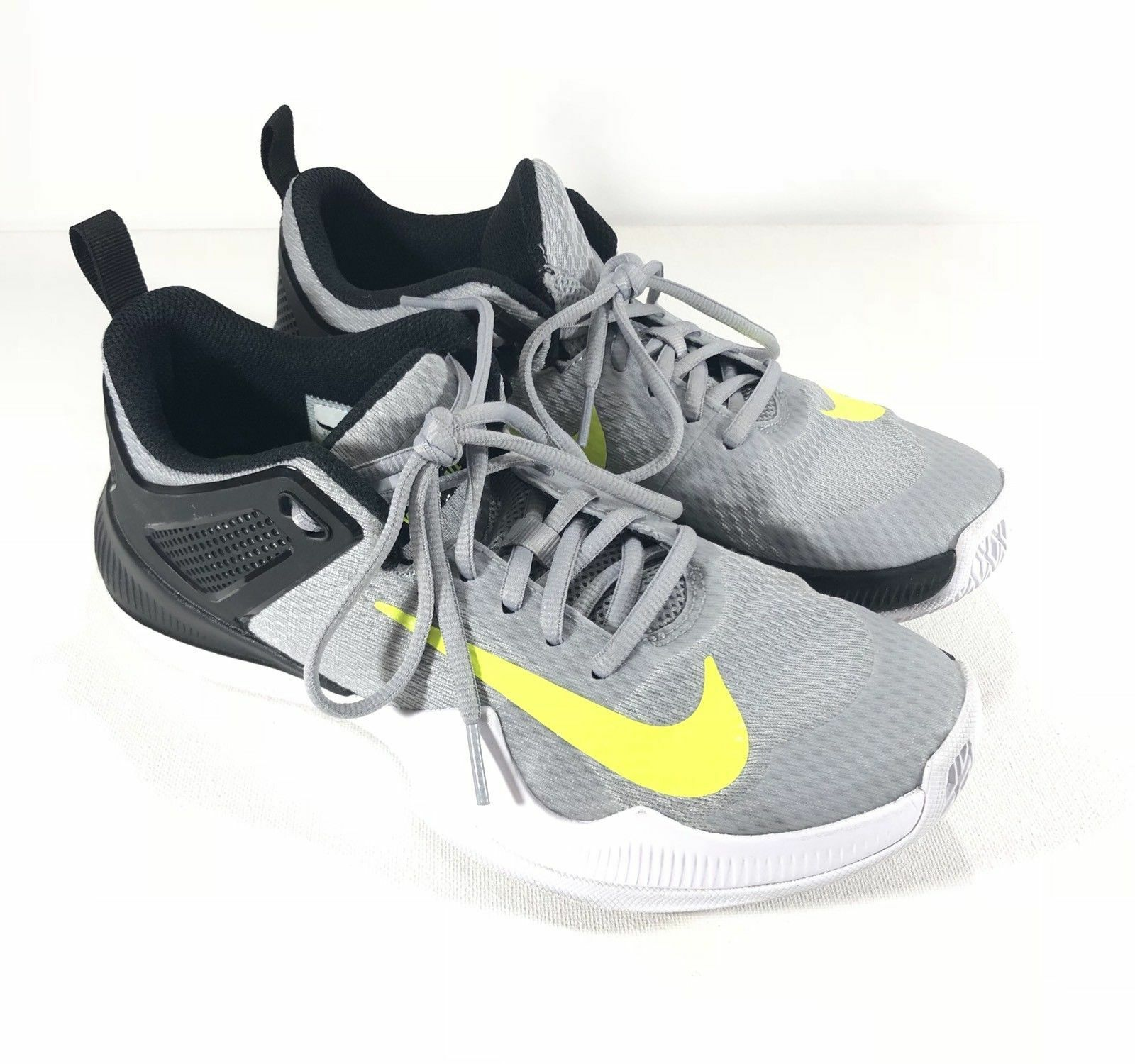 premium selection 18e0b 508cf NEW Nike Women Size 12 Air Air Air Zoom Hyperace Volleyball Shoes 902367-007  Grey