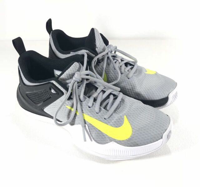 58d00d8bc888e6 NEW Nike Women Size 12 Air Zoom Hyperace Volleyball Shoes 902367-007 Grey  Volt