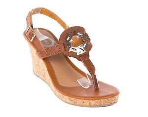 ONE-New-Womens-Ladies-Wedged-Comfort-Slip-on-Flip-Flop-Fashion-Colors-Sandals