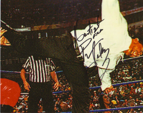 WWF WWE PRINCE IAUKEA AUTOGRAPHED HAND SIGNED 8X10 PHOTO WRESTLING PICTURE
