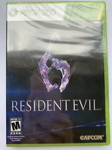 Resident-Evil-6-Microsoft-Xbox-360-BRAND-NEW-SEALED-Y-fold