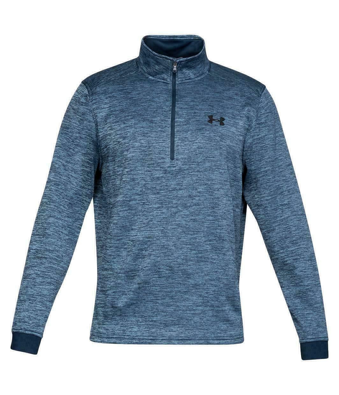 # 1320745-001 Neuf Avec étiquettes Under Armour Homme ColdGear 1//2 Zip Sweat-Shirt-Noir
