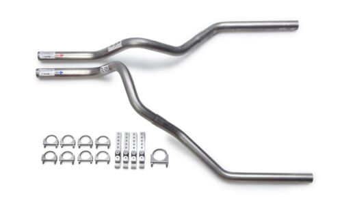 """87-97 Ford F150 F250 Truck 2.5/"""" Mandrel Dual Exhaust Tail Pipe Kit"""