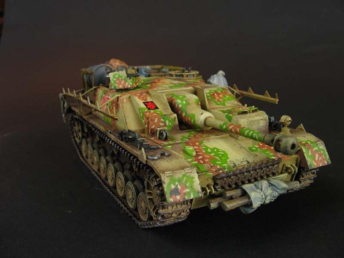 Famoso Distruttore di autori armati StuG.IV Ausf.G. Costruito 1 35
