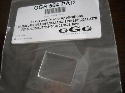 Lexus Gold Fits Toyota Mazda Auto Rain Sensor Pad Fits Between Windshield /& Sensor