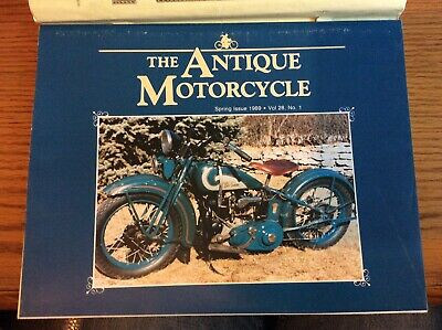 VTG THE ANTIQUE MOTORCYCLE MAGAZINE SPRING 1994 ISSUE