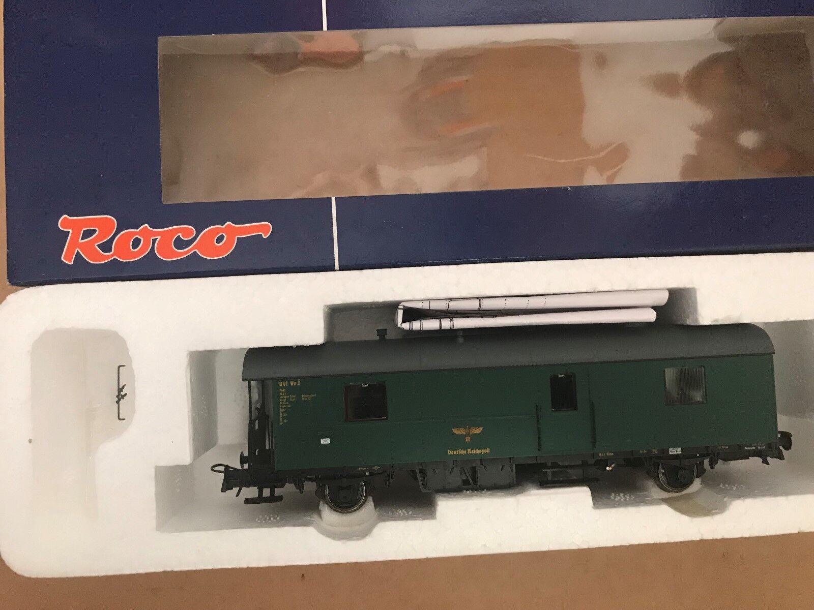 Esperando por ti Roco 64249 H0 Vagón Correo N28 el Aleman Aleman Aleman Reichspost, Ep.II Nuevo + Emb.orig  precios mas bajos