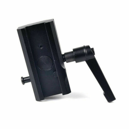 Rotating Quick Detachable Bipod Adapter fits Picatinny Rails for Harris Bipods