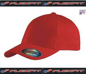 ATLANTIS-cappello-brevetto-FLEXFIT-cappellino-ROSSO-hats-caps-GANG-RAPPER
