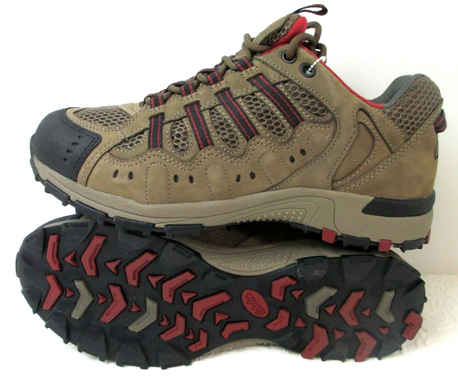 Men's Cabela's Brown Leather Mesh X4 All-Terrain w 4MOST DRY-PLUS Hikers