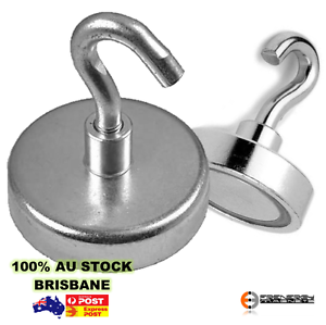 6 x Magnetic HOOKS Holders 32mm, 34kg powerful strong