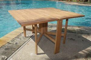 ORLANDO TABLE - A GRADE TEAK WOOD GARDEN OUTDOOR DINING FURNITURE POOL PATIO NEW