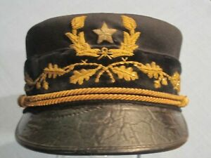 1895-GENERAL-OFFICER-S-GARRISON-CAP-PRE-1902-Transitional-2-hats-set