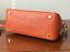 NWT-MICHAEL-KORS-MERCER-LARGE-DOME-LEATHER-SATCHEL-CROSSBODY-BAG-ORANGE thumbnail 4