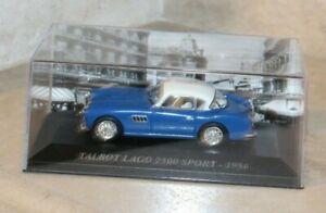 ALTAYA-IXO-Talbot-Lago-2500-sport-1956-1-43