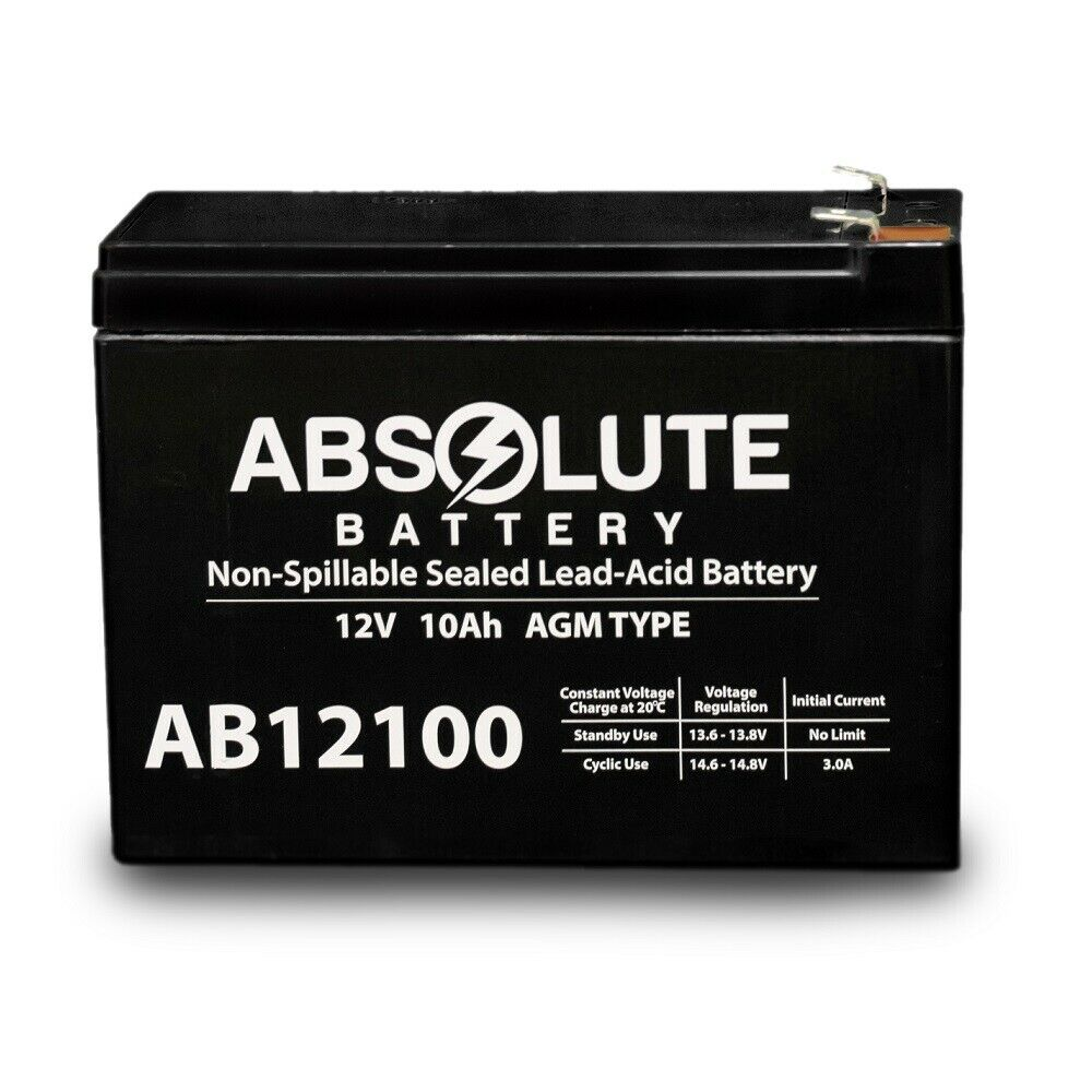NEW AB12100-S 12V 10AH 26058 6-DZM-10 CB10-12 CE5 CE6 MA 2.0 Lawn Mower Battery