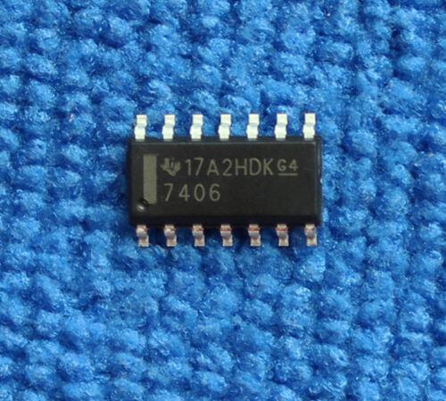20 un. SN7406DR SN7406D SN7406 7406 búfers/controladores SOP-14 IC