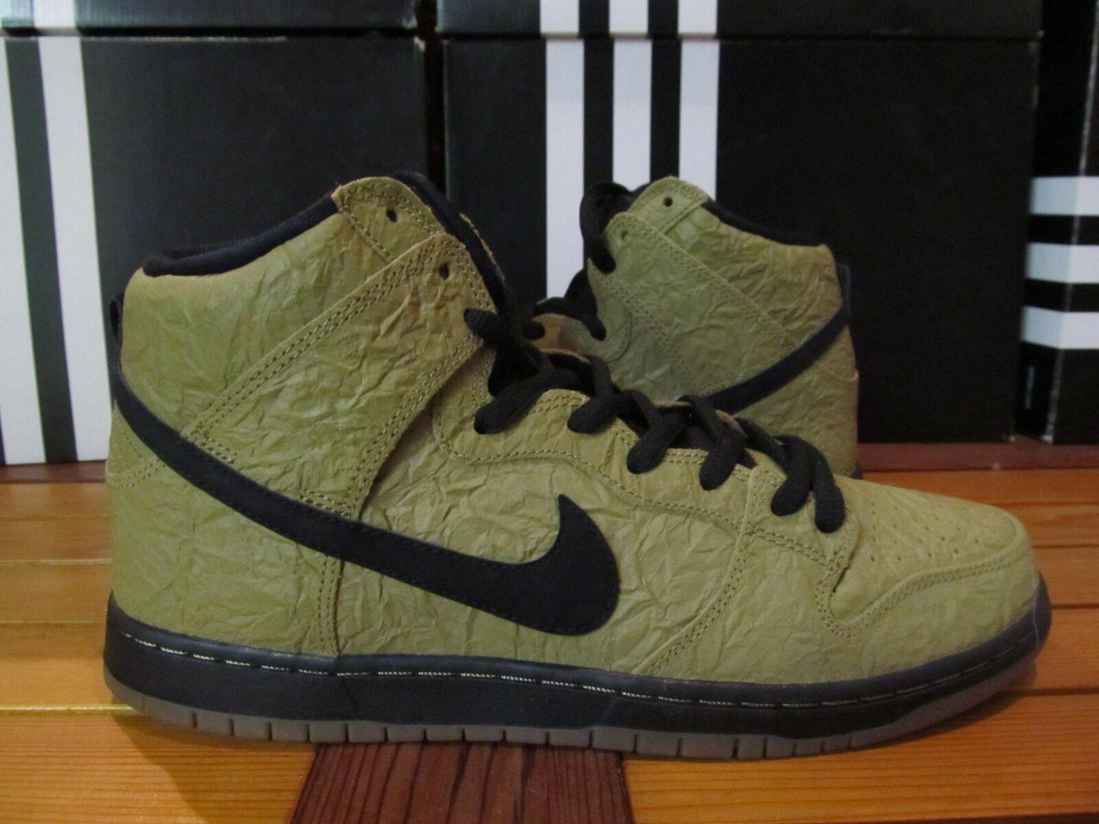 NEW Nike Dunk High Premium SB BROWN PAPER BAG Filbert Gum 11 313171 202 migos