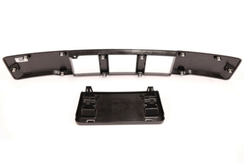 2015-2017 Ford F-150 Front Bumper Lower Grille Trim Panel /& License Bracket OEM