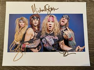 Steel-Panther-Autographed-8x10-Photo