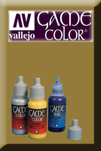 Game Color Desert Yellow 72063 Acrylic Paint Vallejo