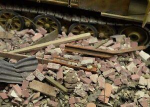 DioDump-DD040-Urban-debris-rubble-1-35-scale-diorama-scenery-materials